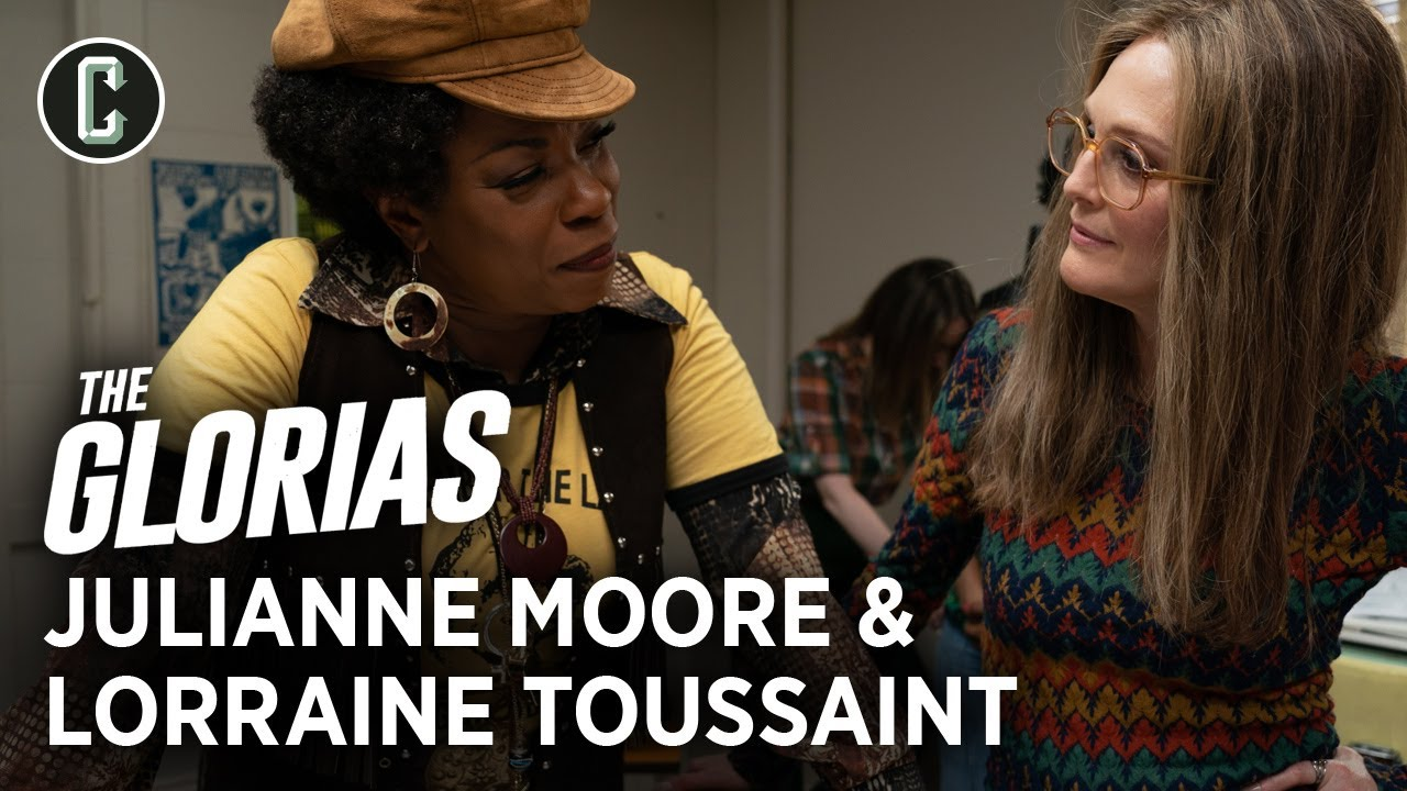 Julianne Moore and Lorraine Toussaint on the Joyous and Rowdy Set of The Glorias