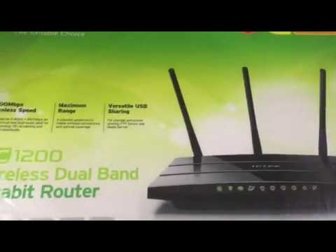 TM Unifi Huawei HG8240W & TP LINK Wireless Dual Band Gigabit Router