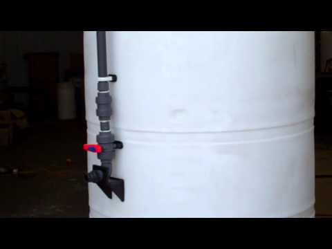 1,200 Gallon Vertical - Fill Tube Close-up