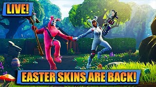 EASTER SKINS ARE BACK // FORTNITE LIVE // PLAYING WITH SUBS LIVE XBOX [STREAM]