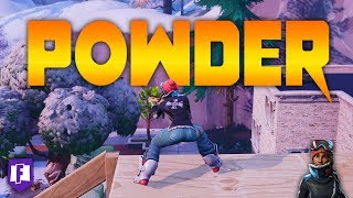 Powder Skin Gameplay | Fortnite Battle Royale Highlights - PC (Black Bars)