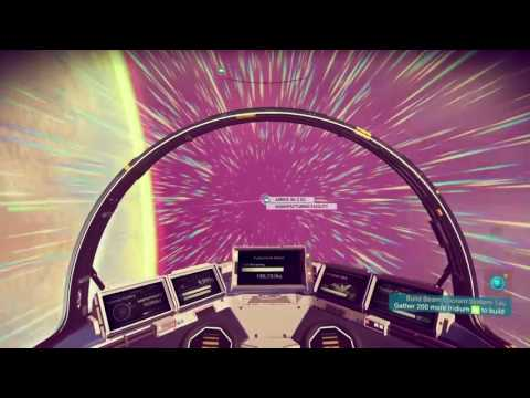No Man's Sky - The life of a gold mining trader...