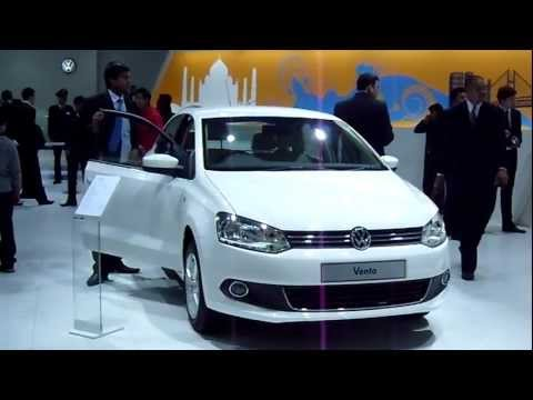 Volkswagen Vento at Auto Expo 2012, New Delhi, India