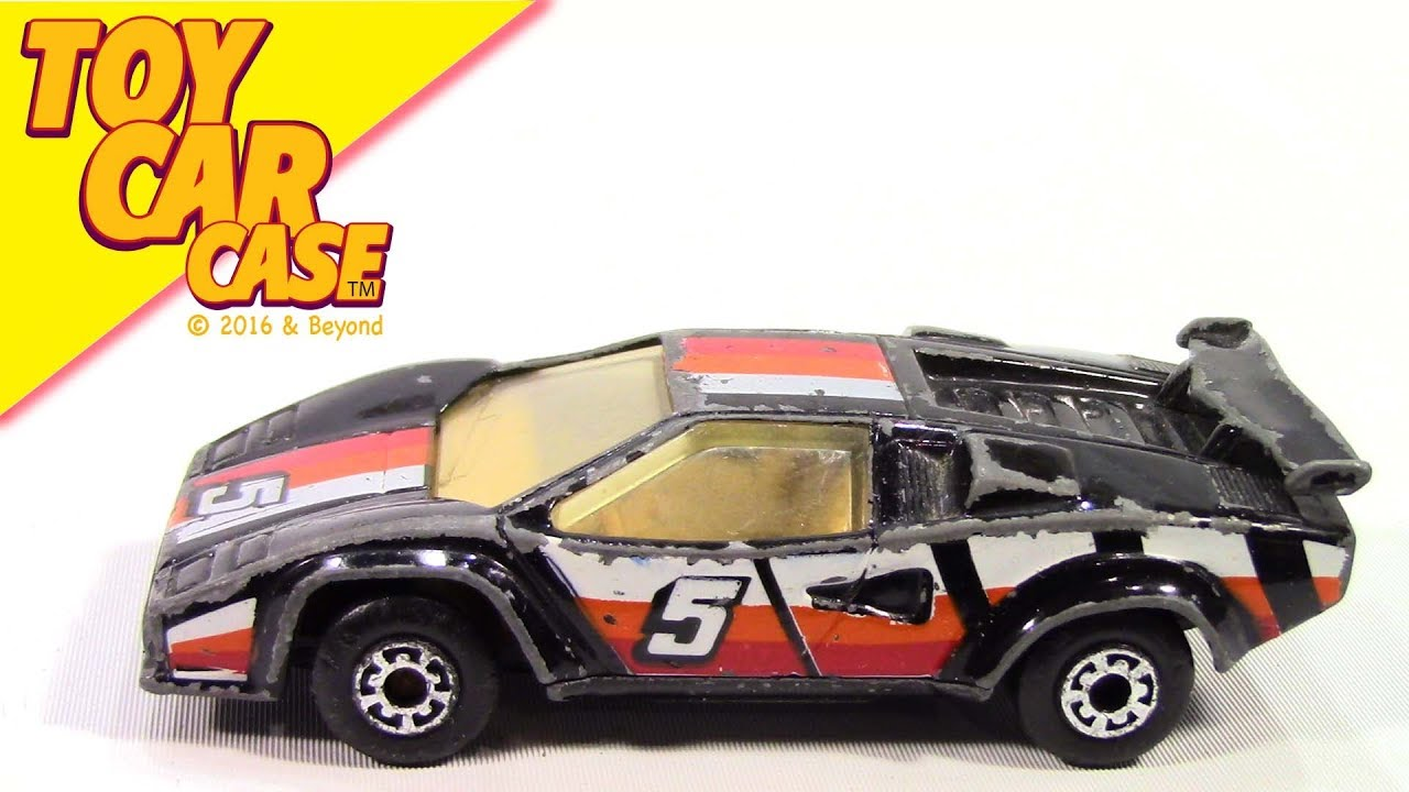 Matchbox Lamborghini Countach L P 500 S 1985 Toy Car A Case Youtube