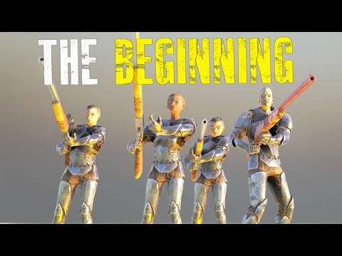 STARTING ON 6 MAN SERVERS - Official Ark 6 Man Small Tribe Servers - Ark:Survival Evolved - Ep.1