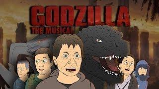 ♪ GODZILLA, EL MUSICAL de dibujos animados de Parodia de la Canción de