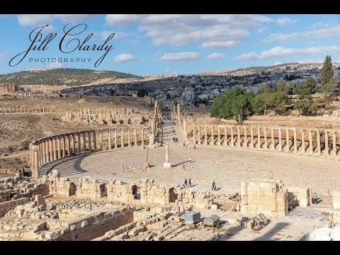 Visit to Beit She'an (Israel) and Jerash (Jordan) Roman Ruins