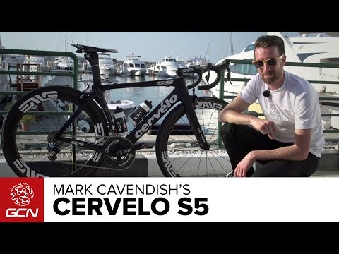 Mark Cavendish's Cervélo S5 – Cav's New Bike For 2016 | Dubai Tour 2016