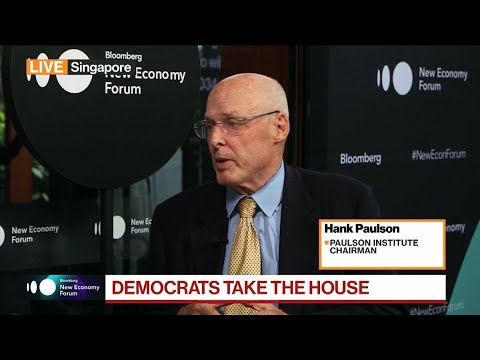 Paulson Sees Risk of China Becoming `Strategic Adversary'