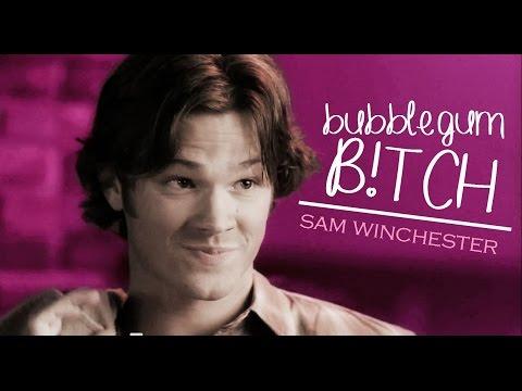 sam winchester | bubblegum b!tch