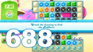 Candy Crush Jelly Saga Level 688 (3 star, No boosters)