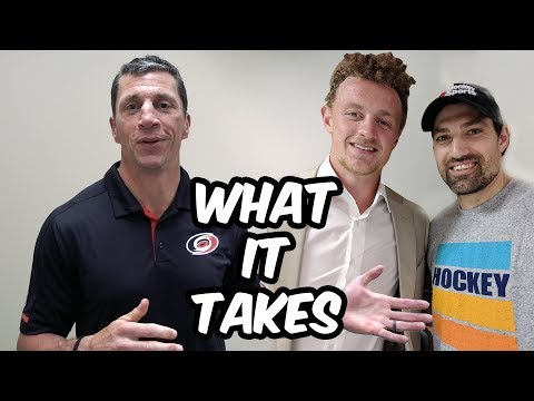 How to Make the NHL ft Jack Eichel, Rod Brind'Amour & Kevin Weekes