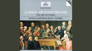 J.S. Bach: The Art Of Fugue, BWV 1080 - Contrapunctus 6 a 4 in Stylo Francese