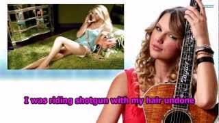 Taylor Swift - Our Song (Instrumental) (Lyrics)