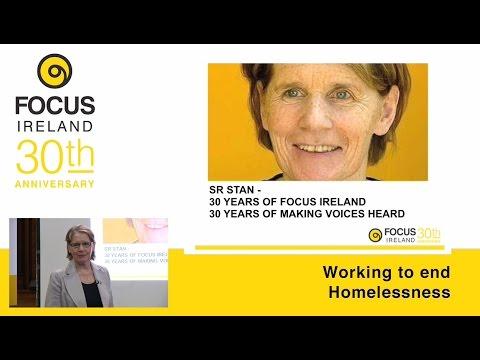 Sr. Stanislaus Kennedy's 30th Anniversary Talk - Focus Ireland