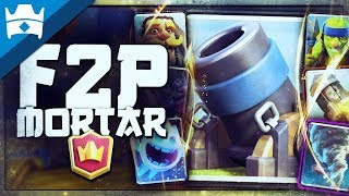5800 CHAMPIONS LEAGUE with F2P MORTAR CYCLE DECK || Live High Ladder Pushing!