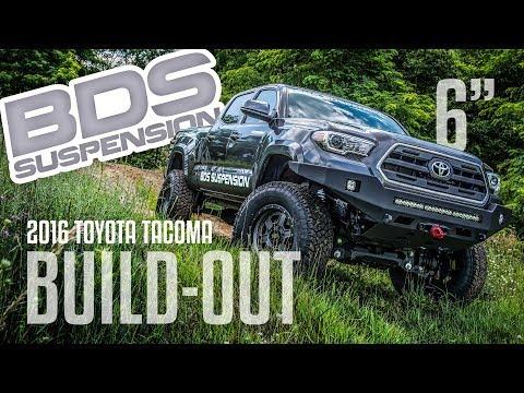Toyota Tacoma BUILD OUT