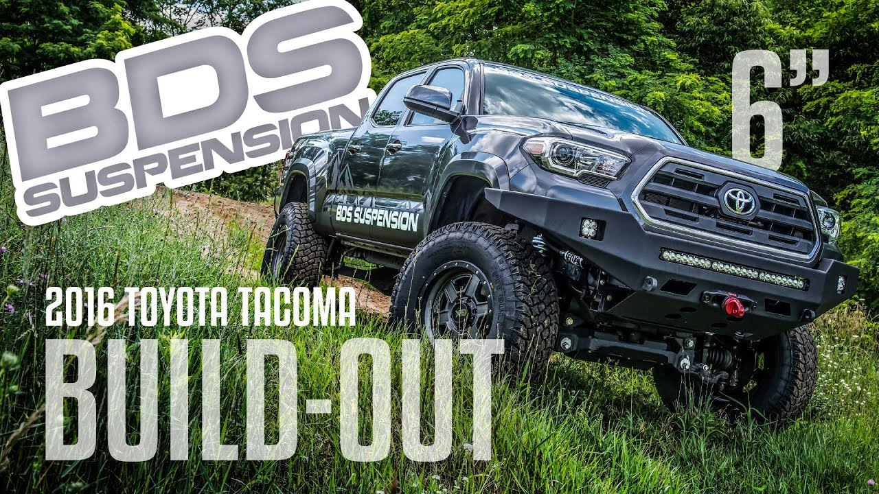 Toyota Tacoma Build Out Youtube