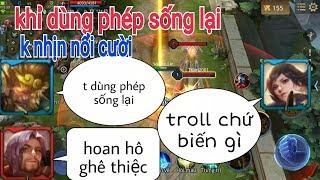 Troll Game - Ngộ Khỉ Dùng Phép Chết Đi Sống Lại Không Nhịn Nổi Cười