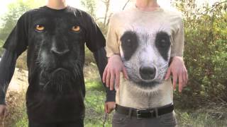 Repeat youtube video 3D Tshirts Big face
