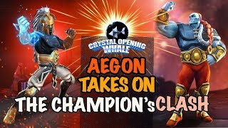 Aegon Takes on The Champions Clash- Guess Who Wins?-Marvel Contest of Champions