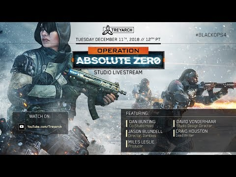 Official Call of Duty®: Black Ops 4 – Operation Absolute Zero Studio  Livestream