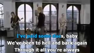 Bon Jovi   All About Lovin you lyrics