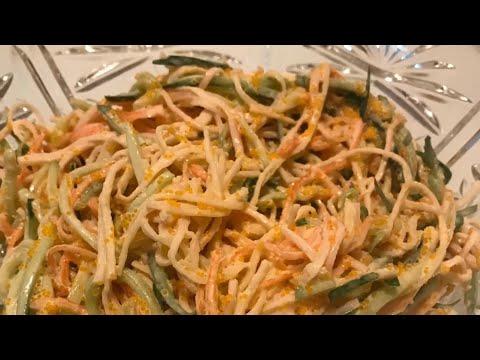 Кани салат:очень вкусно и просто