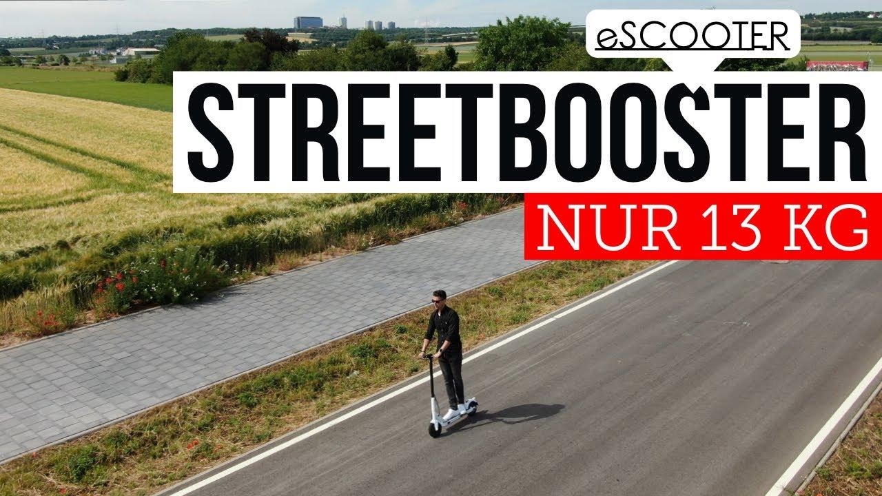 eScooter : STREETBOOSTER 13KG mit StVo Zulassung und APP