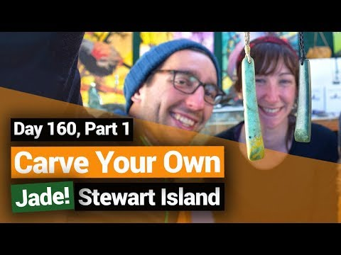Carve Your Own Jade On Stewart Island  –  New Zealand's Biggest Gap Year – BackpackerGuide.NZ
