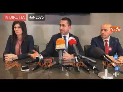 """Di Maio: """"Dalla Lega atteggiamenti inaccettabili, il Governo non può spostarsi a ultradestra"""""""