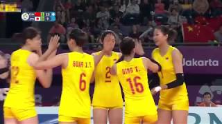 Zhu Ting is the best player in China's women's volleyball team.