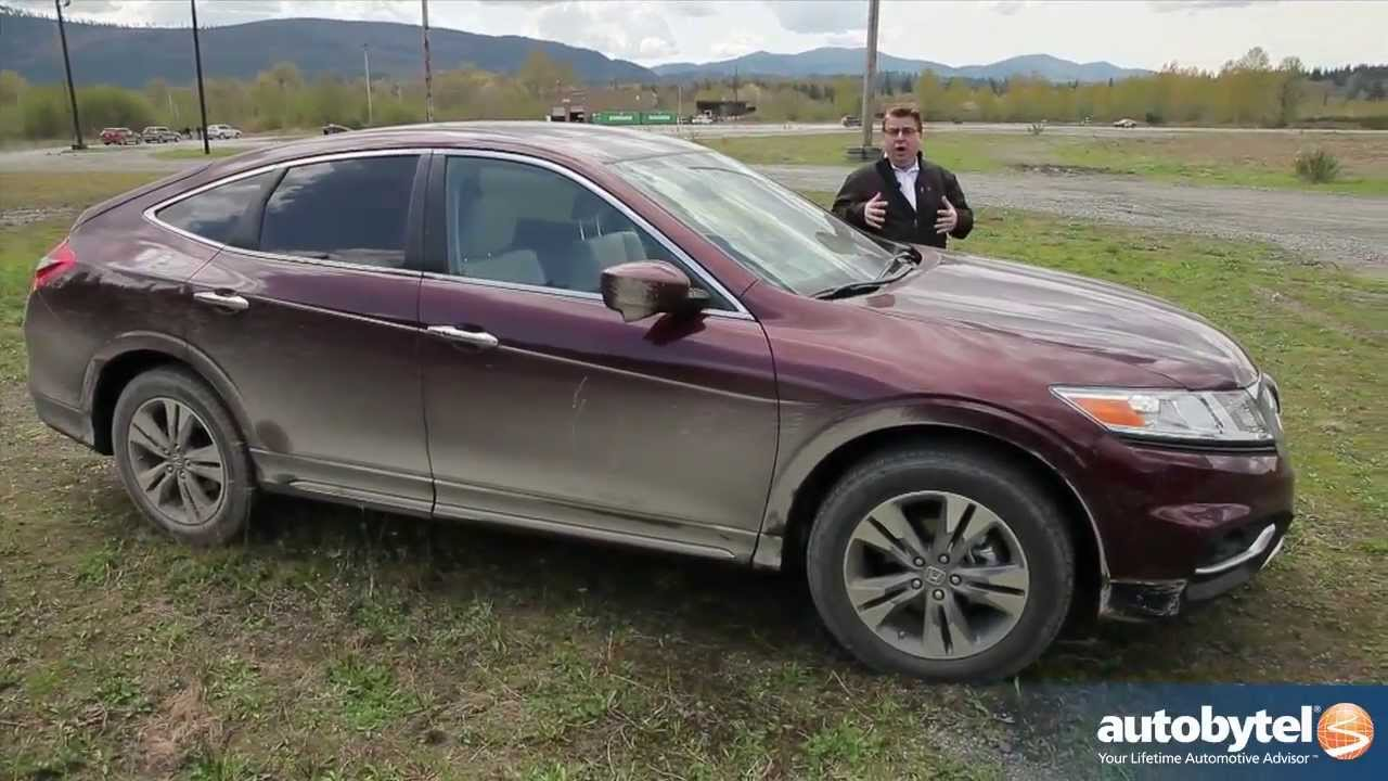 2014 Honda Crosstour 3 5l V 6 Test Drive Cuv Video Review