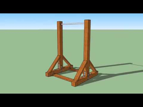 Diy Pull Up Bar In Sketchup Youtube
