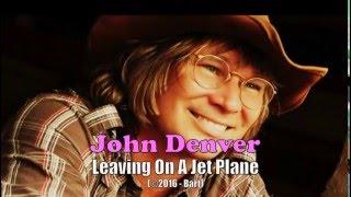 John Denver - Leavin' On A Jet Plane (Karaoke)