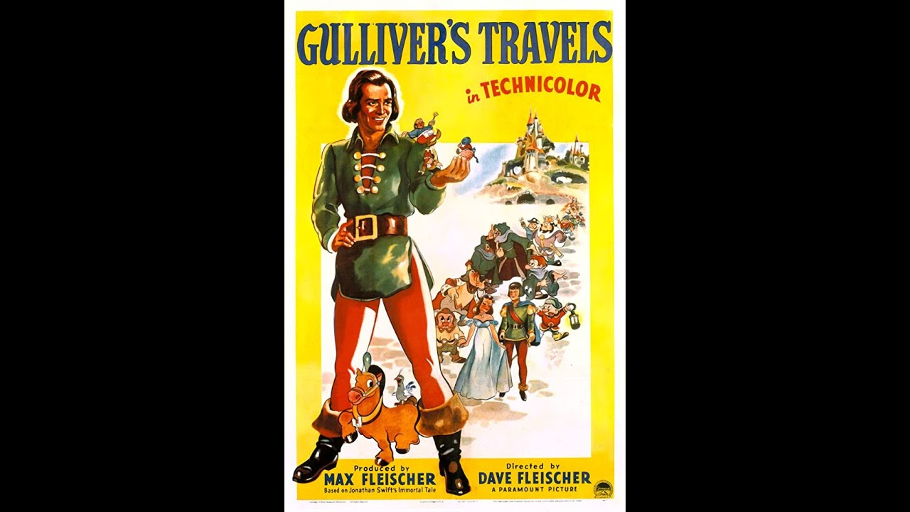GULLIVER'S TRAVELS (1939) (Remastered) (HD 1080p)
