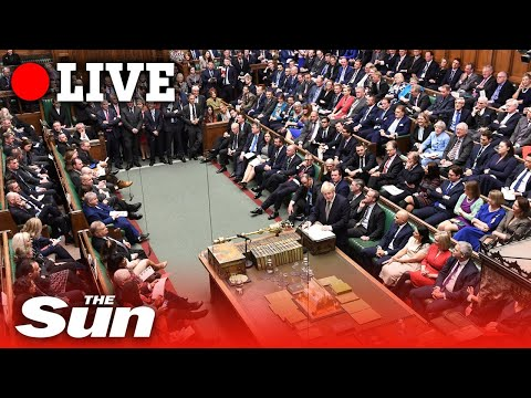 PMQs - Prime Minister Boris Johnson takes questions in parliament