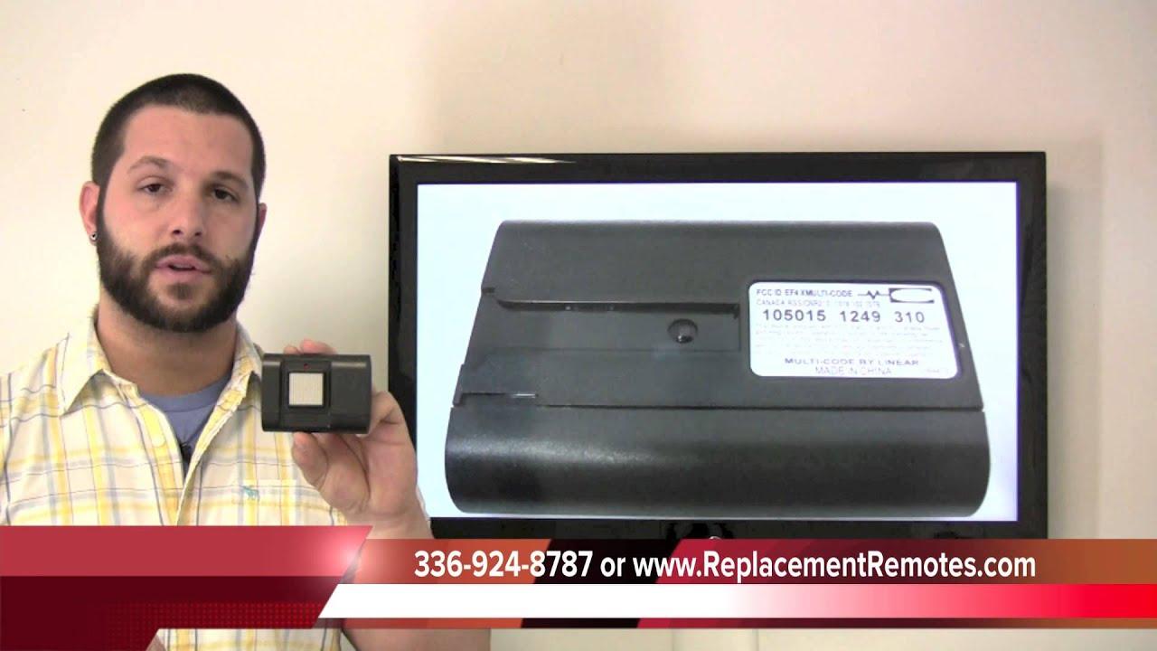 Stanley 1050 Garage Door Opener Replacementremotes Youtube