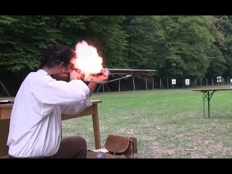 Muskets and tirailleurs Part 3/3. Musket range tests with Napoleonic times service loads