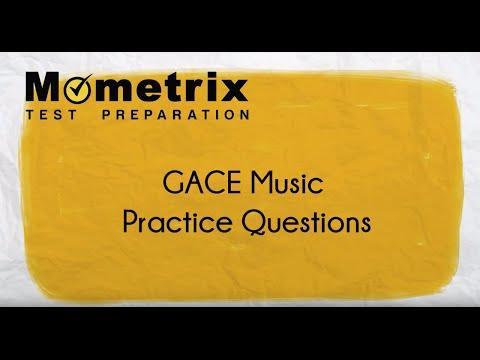 GACE Music (611) Practice Questions