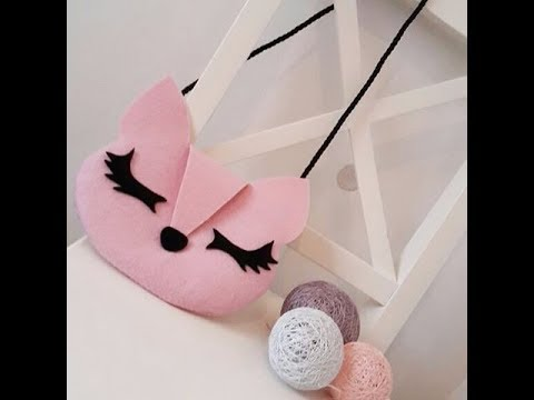 5 DIY TRENDY KITTEN PURSE BAG STEP BY STEP YOU CAN MAKE BY OWN HANDS // No Sew ~ No Spend Much Money