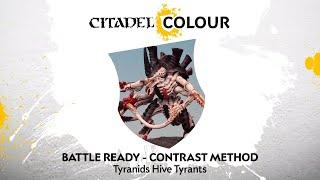 How to Paint: Tyranids Hive Tyrants – Contrast Method