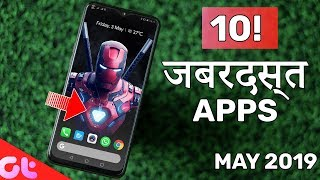 Top 10 JABARDAST Android Apps of the Month - May 2019   GT Hindi