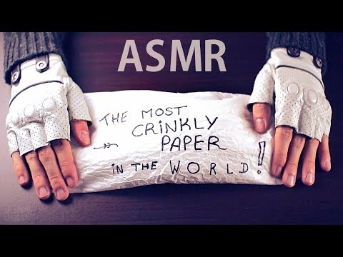 [ASMR] The Most CRINKLY Paper In The World - NO TALKING