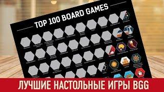 ТОП-100 НАСТОЛЬНЫХ ИГР BGG, В КОТОРЫЕ Я ИГРАЛ   КОНКУРС