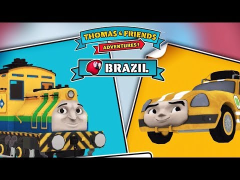 Raul From Brazil Vs Ace From United States - Thomas & Friends: Adventures!