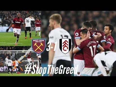 West Ham 3-1 Fulham: Passionate Reaction- #StopTheGreed Tony Kahn/Ranieri Need To Go!!!