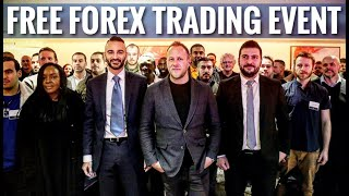 FOREX TRADING - MY FREE WORKSHOP EVENT