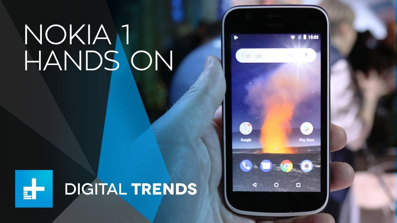 Nokia 1 – Hands On at Mobile World Congress 2018