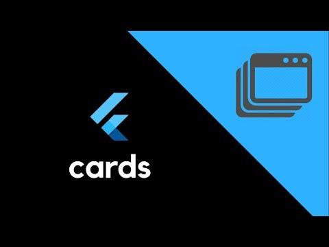 Flutter UI - Cards